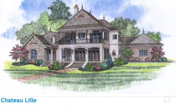 Stunning Acadian Home Design Ideas - Home Building Plans | 20115