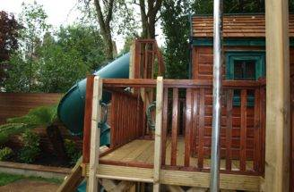 Activities Spiral Slide Treehouses Playhouse Company
