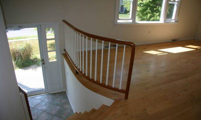 Additions Split Foyer Homes Staircase Remodel Ideas