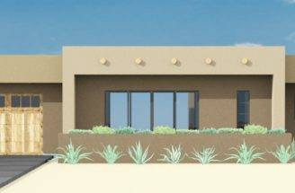 Adobe House Plan Custom Contemporary Modern Plans