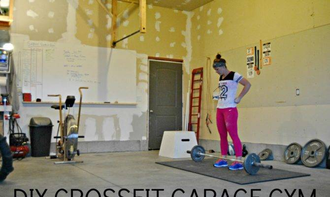 Although Our Crossfit Garage Gym Isn Quite Complete Still