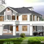 Amazing Western Style Kerala Home