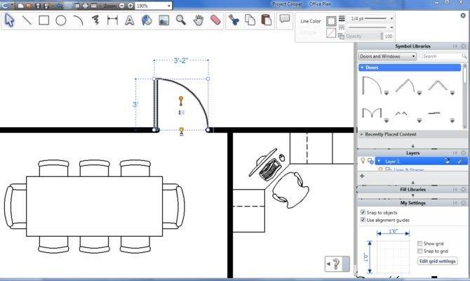 Architectural Drawing Design Interior