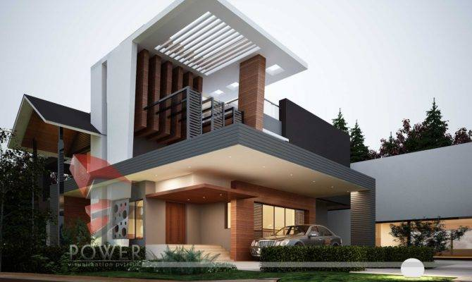 Architectural Visualization Ultra Modern Architecture House Designs