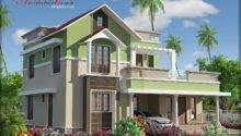 Architecture Kerala Bhk Contemporary House Elevation
