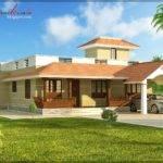 Architecture Kerala Single Storied House Elevation
