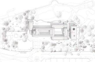 Architecture Plan Drawing