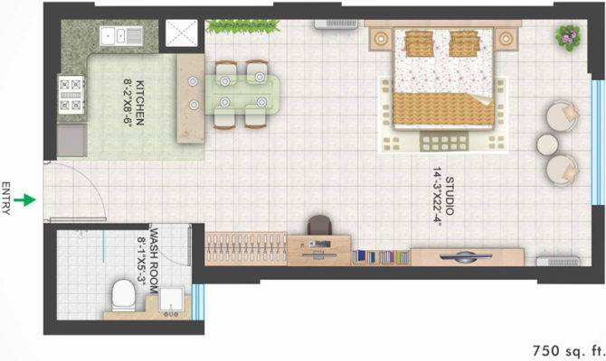 Area Floor Plan Bhk Apartment