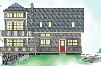 Arichat Lighthouse Timber Frame House Plans