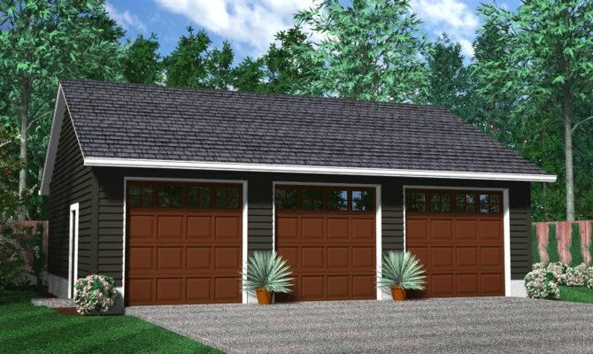 Armstrong Detached Garage Floorplans