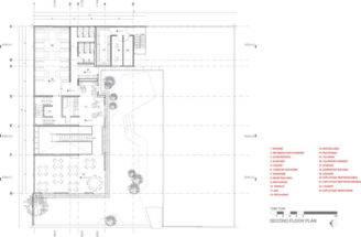Arquitectos Esrawe Studio Second Floor Plan Tori Restaurant
