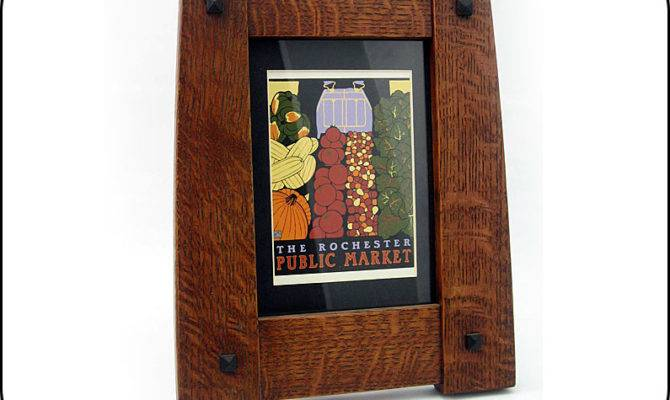 Arts Crafts Style Art Bungalow Frame