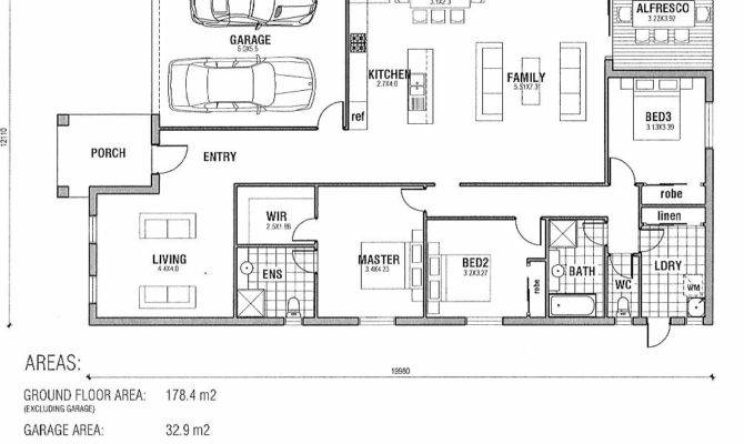 Ascot Single Storey Dwelling Bedrooms Bathroom Car