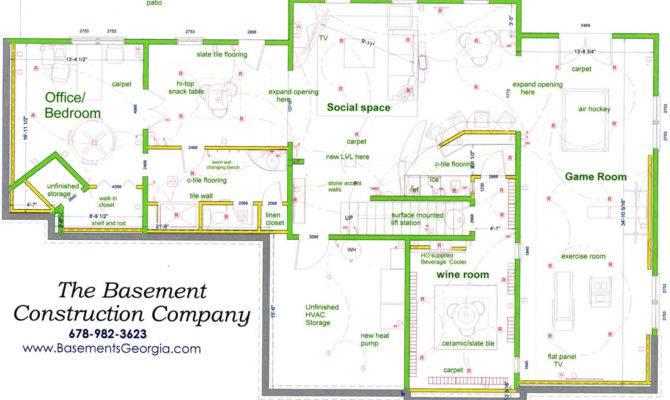 Atlanta Basement Finishing Kitchen Bathroom Remodeling Services