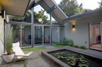 Atrium Court Yard Ideas Water Feature