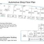 Auto Repair Shops Floor Plan Layouts Car