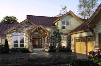 Awesome Modern Rustic House Plans Home