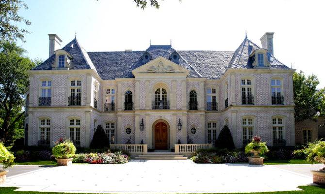 Pleasing 9 Spectacular French Style Homes Exterior Home Building Plans Largest Home Design Picture Inspirations Pitcheantrous
