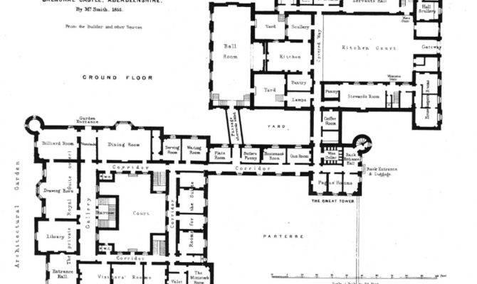 Balmoral Castle Ground Floor Plan Firstfloorplan