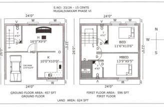 Baltimore Row House Floor Plan