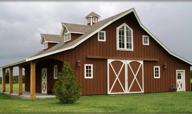 Barn Kits Horse Barns Homes