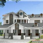 Based Indian Home Design Balconies Kerala House Idea