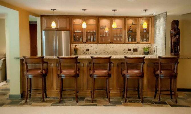 Basement Bar Designs Unique Wooden