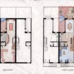 Basement First Floor Plans Second Third