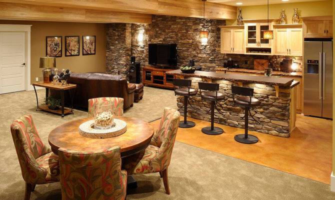 Basement Remodeling Ideas Bar Design