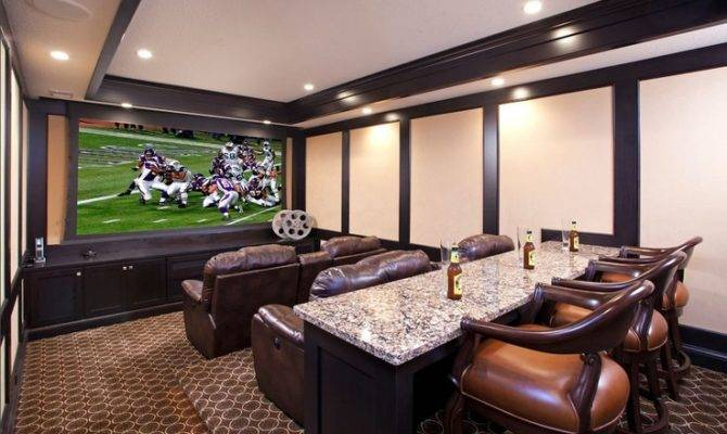 Basement Theater Room Pinterest