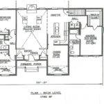 Bath Hip Roof Ranch Car Garage Under House Building Plans
