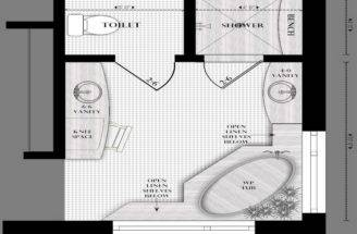 Bathroom Layouts Modern Layout Master