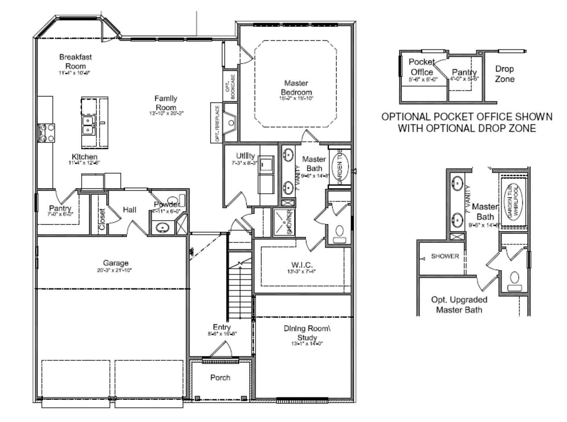 100 Large 2 Bedroom House Plans Small Master