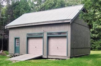 Bay Garage Large Barn Loft Timber Frame Structure Kit