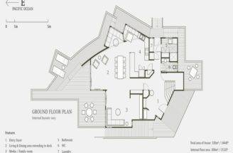 Beach House Floor Plans Design Ground Plan