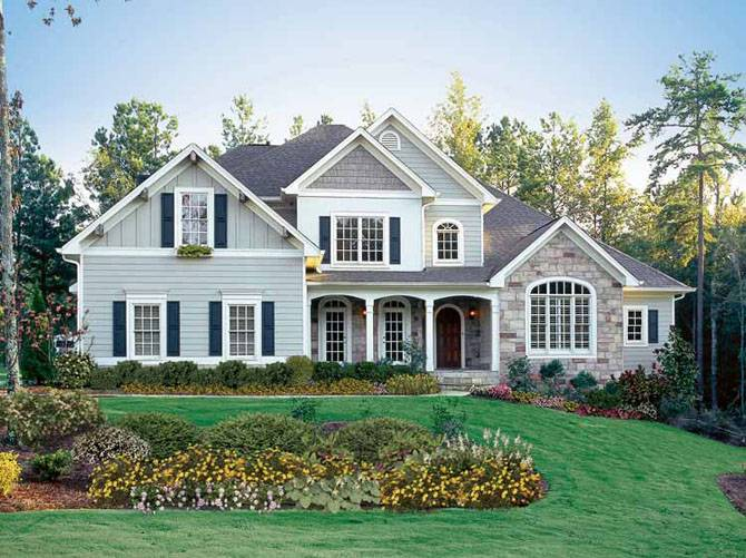 Beautiful American House Design Style Home Designs Home