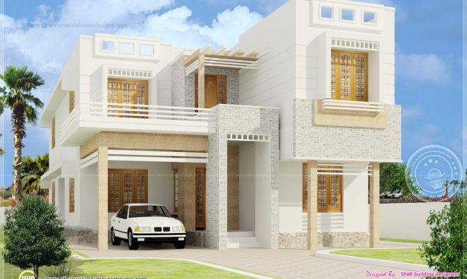 Beautiful Bedroom House Exterior Elevation Kerala Home Design