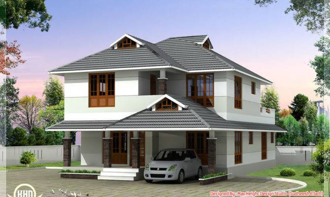 Beautiful Bedroom House Plan Kerala Home Design Floor Plans
