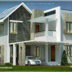 Beautiful Double Storey Villa Feet Kerala Home Design
