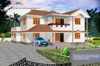 Beautiful Home Elevation Designs Kerala House Design Idea