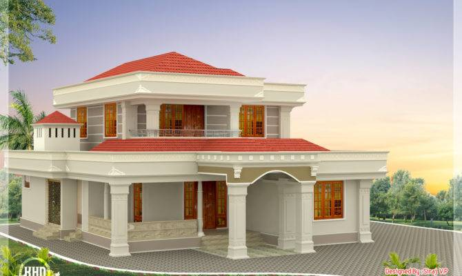 Beautiful Indian Home Design Feet Kerala