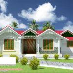 Beautiful Single Floor House Elevation Plan Home