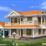Beautiful Storey House Design Square Meters