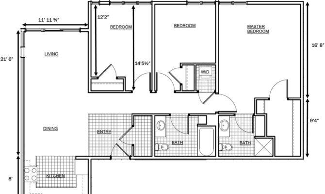 Wonderful 3 Bedroom Flat House Plan Bedroom Flat Floor Plan Small House Plans Pland  Two Design 3