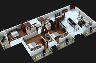Bedroom Balcony House Plans