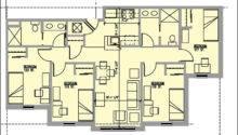 Bedroom Bath House Plans Home