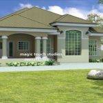 Bedroom Bungalow House Plan Nigeria Ghana