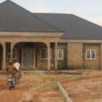 Bedroom Bungalow House Plans Nigeria Cost Building