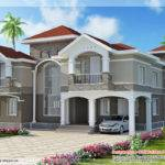 Bedroom Double Floor Indian Luxury Home Design Decor New Homes Plans