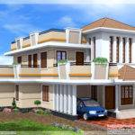 Bedroom Double Storey House Kerala Home Design Floor Plans